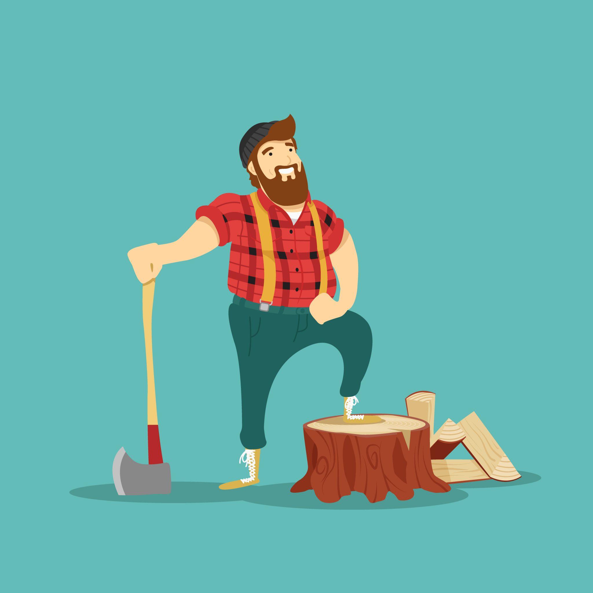 木を切る前に刃を磨く
