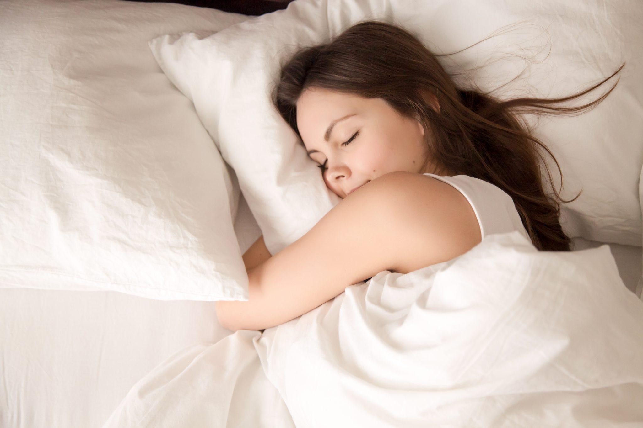 寝るときは思いっきり寝る